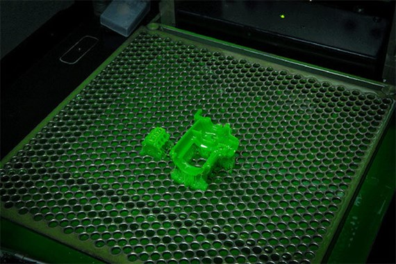 micro resolution stereolithography part